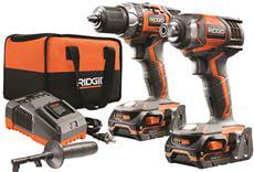 Ridgid 18-Volt Drill And Impact Driver Kit by Ridgid