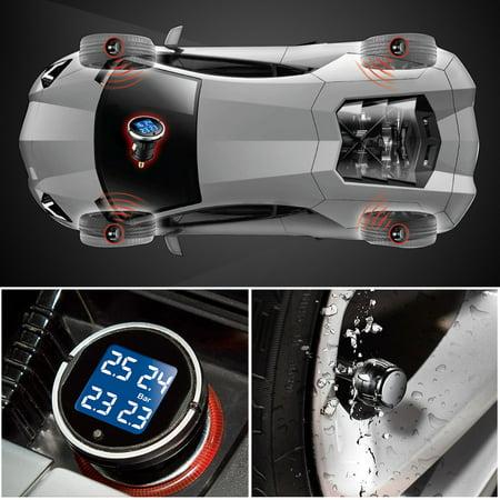 Steelmate EBAT ET-710AE 4-sensor Wireless TPMS LCD Tire Pressure Monitor System - image 4 de 7