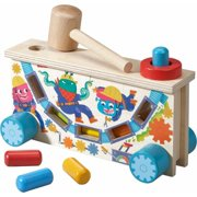 HABA Highlights Monster Tap Bench Hammering and Pounding Toy