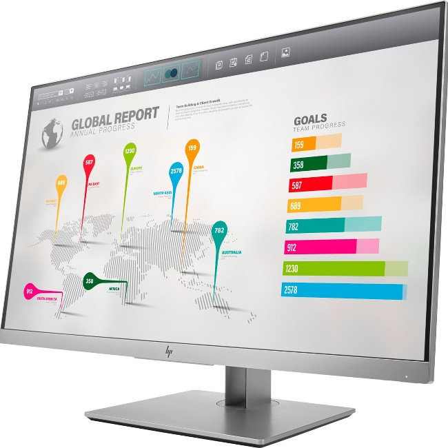 "HP EliteDisplay E273q 27"" QHD 2560x1440 LED LCD IPS Monitor"
