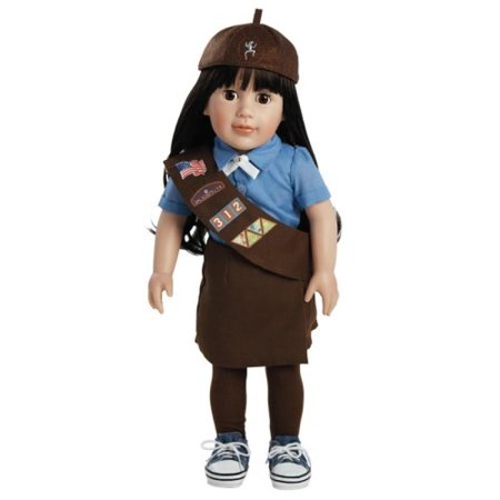 Adora Play Doll Abigail - Girl Scout Brownie 18
