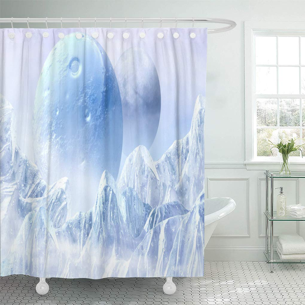 CYNLON Blue Frozen Fantasy Scene of The Ice Planet from ...