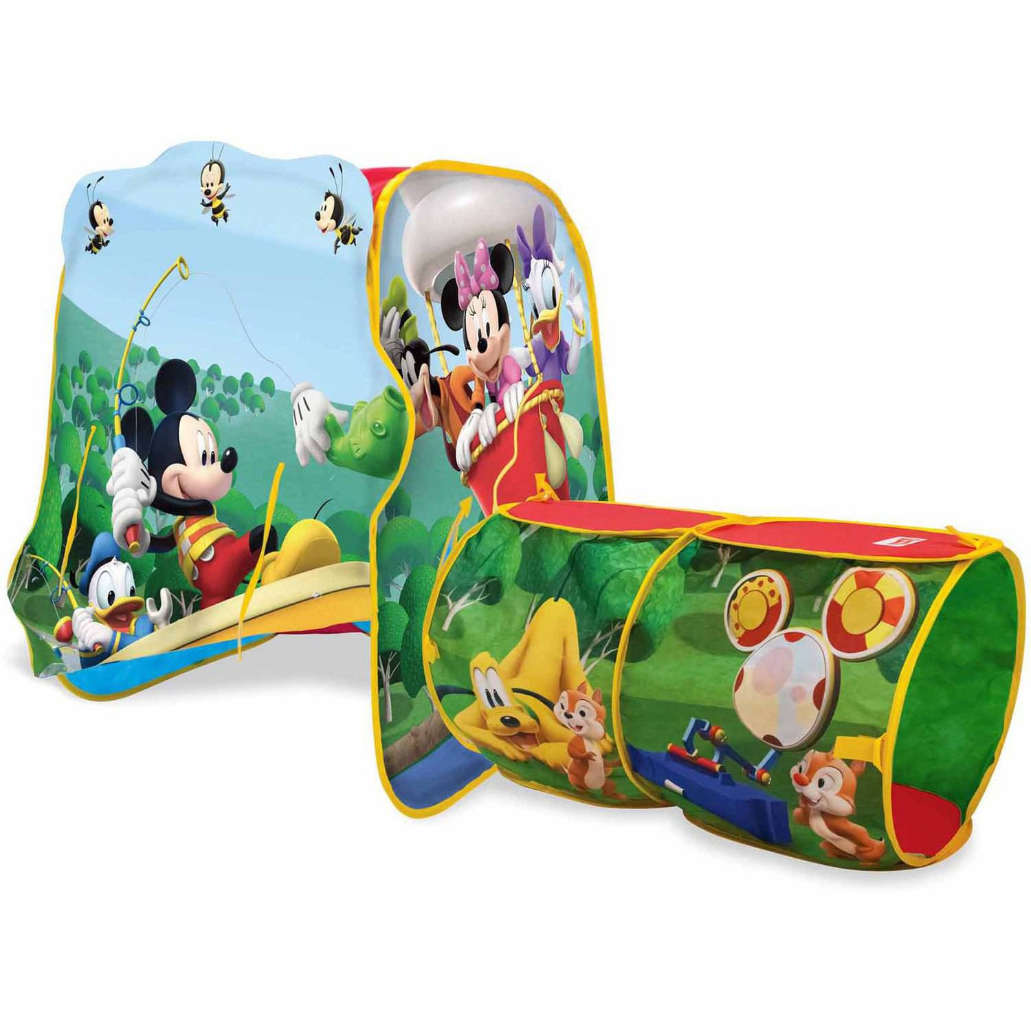 Marshmallow Furniture 2 In 1 Flip Open Sofa Mickey Mouse