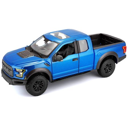 Special Edition Trucks 2017 Ford F150 Raptor Variable Color Diecast Vehicle (1:24 Scale)(Colors May Vary), Die-cast metal body with plastic parts By