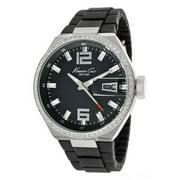 Kenneth Cole Women's KC4812 Women Black Crystal Watch