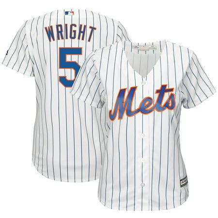 finest selection b861b a0b2b David Wright New York Mets Majestic Women's Cool Base Jersey ...