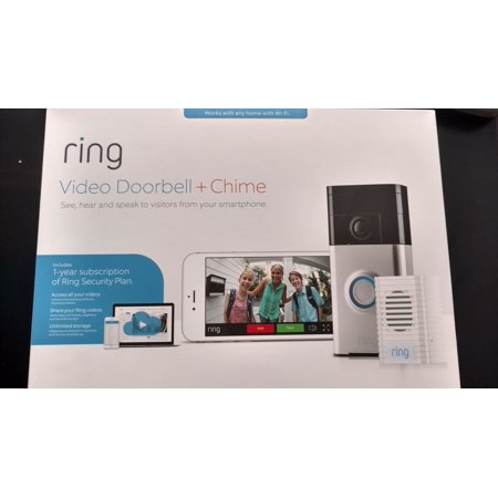 Ring Doorbell With The Cloud Option
