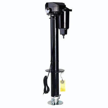 Gymax Electric Power Tongue Jack 3500 lbs RV Boat Jet Ski Trailer Camper