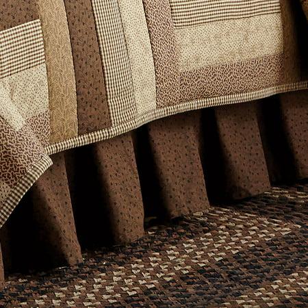 Brown Queen Bed Skirt 28