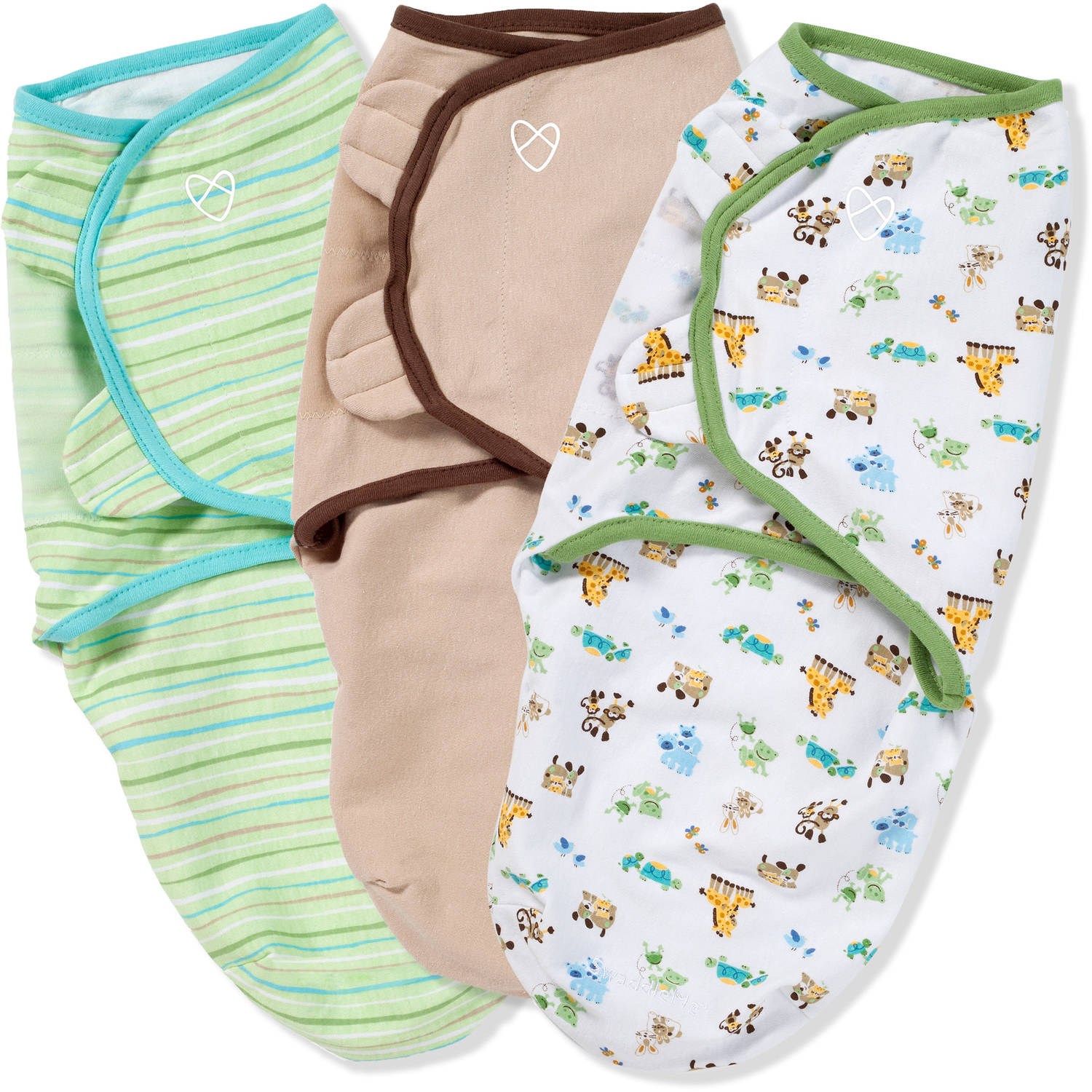 SwaddleMe Original Swaddle, 3-Pack, Mom & Baby, Small
