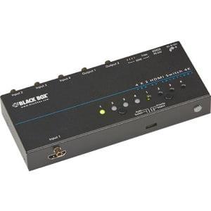 Black Box 4K HDMI Matrix Switch VSW-HDMI4X2-4K