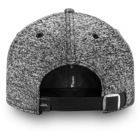 447cdf8c5c6ba Chicago Blackhawks Fanatics Branded Women s Black and White Fundamental  Adjustable Hat - Gray - OSFA - Walmart.com
