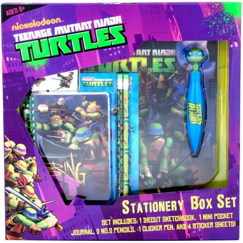 Ninja Turtles Stationery Set
