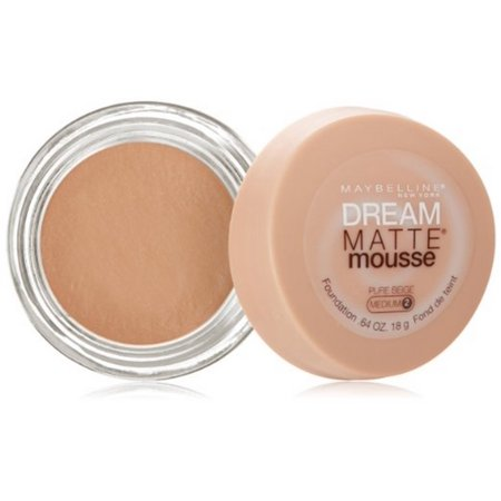 Maybelline Dream Matte Mousse Foundation, Pure Beige, 0.64