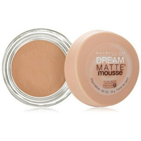 Maybelline Dream Matte Mousse Foundation, Pure Beige, 0.64 oz