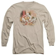 Wildlife Wheres The Fire? Mens Long Sleeve Shirt