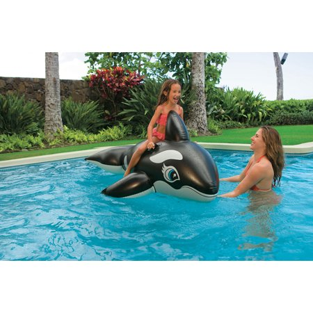 Intex Jumbo Whale Rider For Swimming Pools