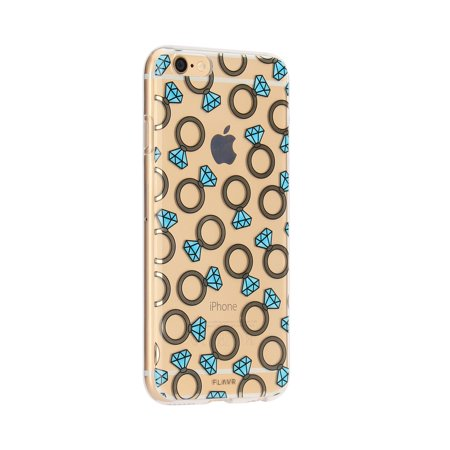 FLAVR iPhone 6/6S Diamond Rings iPlate case - 26272 - image 1 of 1