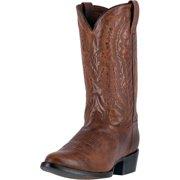 """Dan Post Western Boots Mens 12"""" Cash R Toe Orthotic Cognac DP2407"""