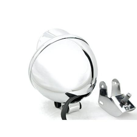Motorcycle Custom Chrome Headlight Head Light For Kawasaki Mach 500 750 KH S3 Trial Boss - image 2 de 4
