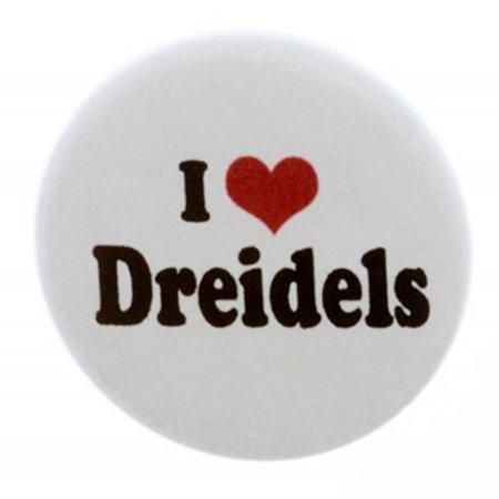 Plastic Dreidel - I Love Dreidels 1.25