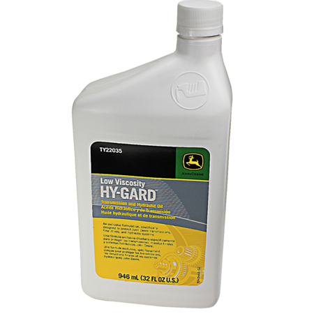 JOHN DEERE #TY22035 LOW VISCOSITY HY-GARD TRANSMISSION & HYDRAULIC OIL - 32 (John Deere Low Viscosity Hy Gard J20d Equivalent)