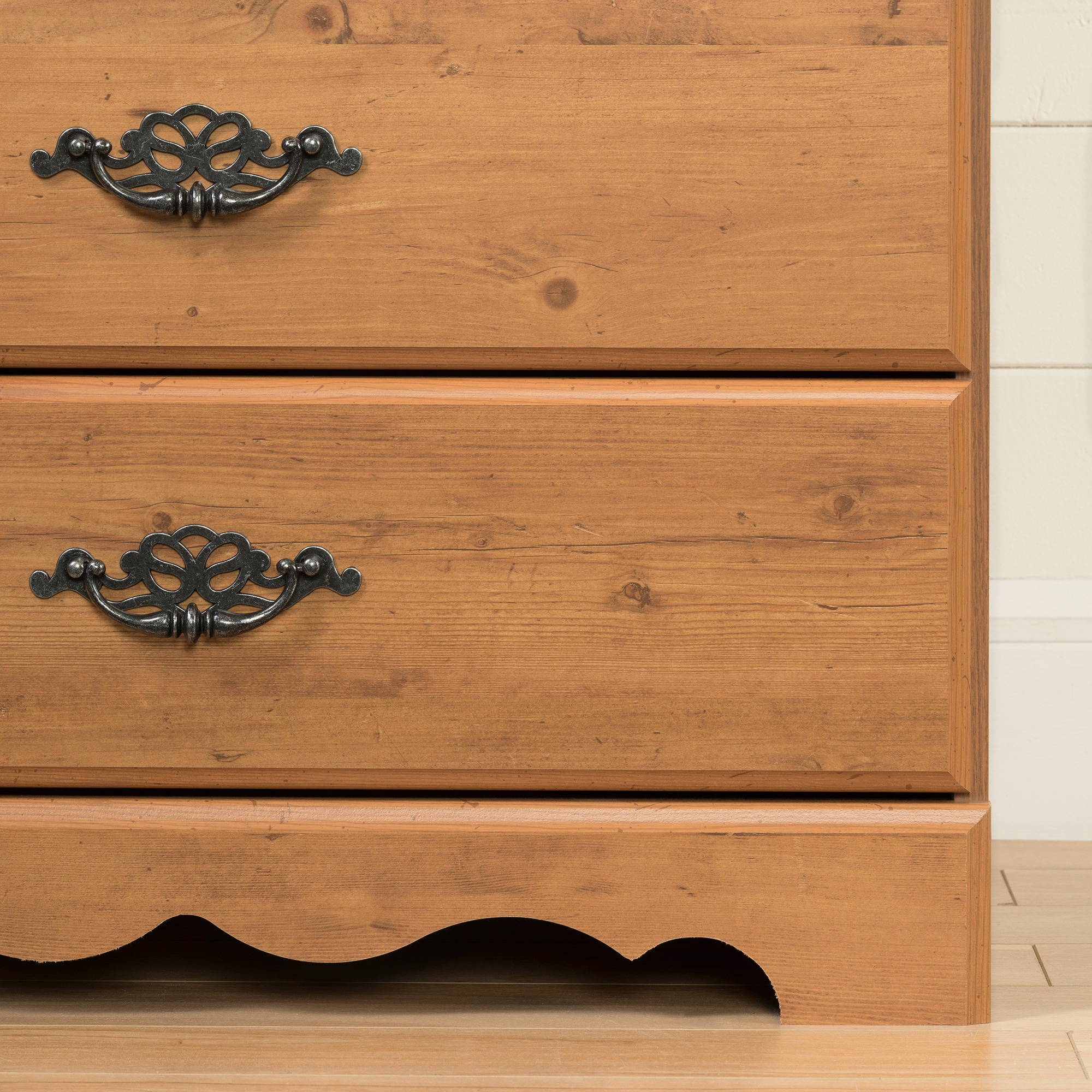 11f4586d55a9 South Shore Prairie 5-Drawer Dresser, Country Pine - Walmart.com