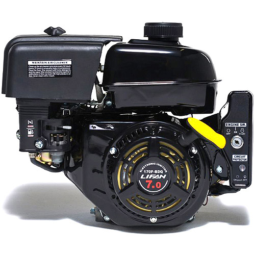"LIFAN 7HP OHV Electric/Recoil Start 3/4"" Horizontal Keyway Shaft Engine"