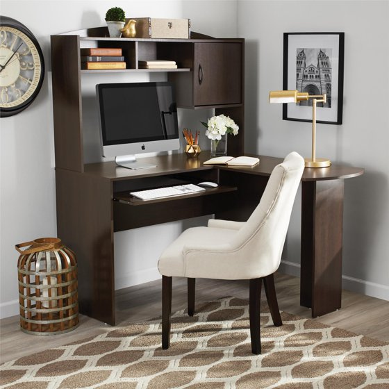 Mainstays L Shaped Desk With Hutch Multiple Colors