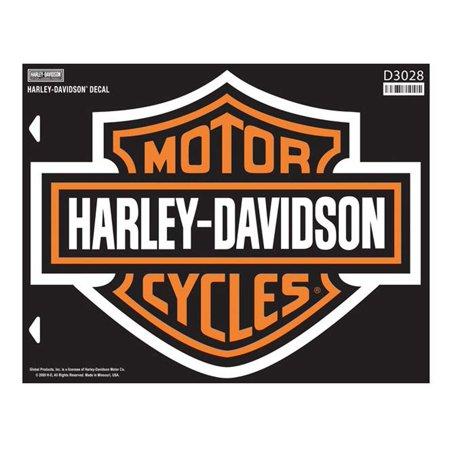harley-davidson bar & shield x-large decal, x-large size sticker