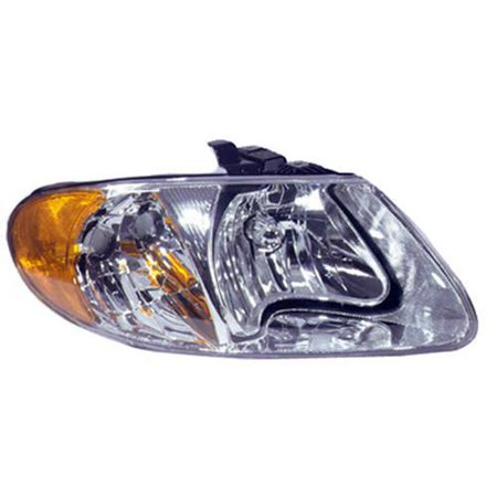 Voyager Headlight Set - CH2503129 Right Headlamp Assembly for Chrysler Town & Country, Voyager