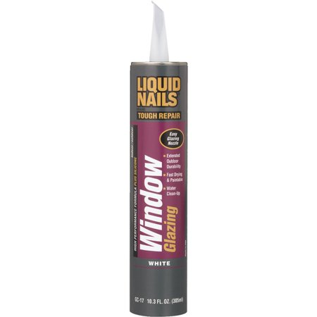 (24 Pack) Liquid Nails Window Glazing