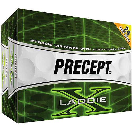 Precept Laddie X Golf Balls, 2 dozen