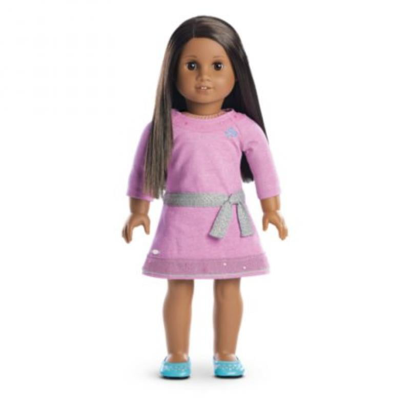American Girl Truly MeTM Doll: Dark Skin, Dark Brown Hair, Brown Eyes DN47 by