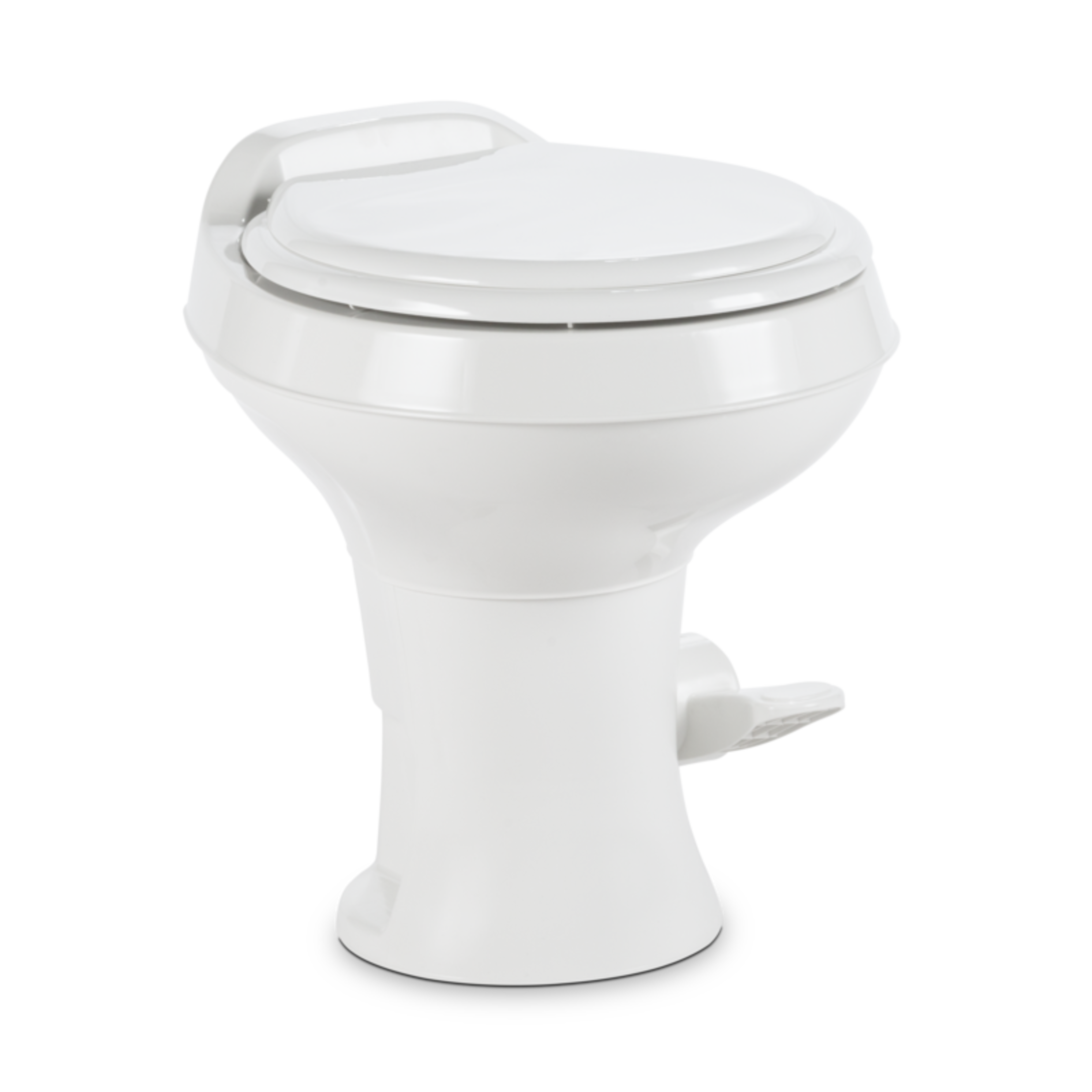 Dometic 302300071 300 Series Standard Height Toilet, White