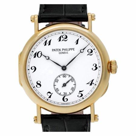 Pre-Owned Patek Philippe Calatrava 3960J Gold Watch (Certified Authentic & Warranty)