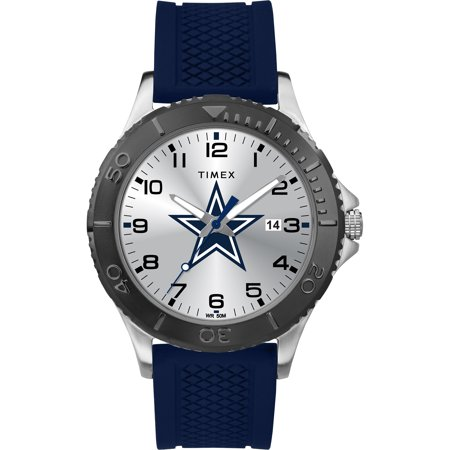 Timex - NFL Tribute Collection Gamer Blue Men's Watch, Dallas (Cowboys Dynasty Watch)