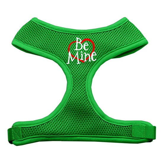 Mirage 70-28 LGEG Be Mine Soft Mesh Dog Harness Emerald Green Large