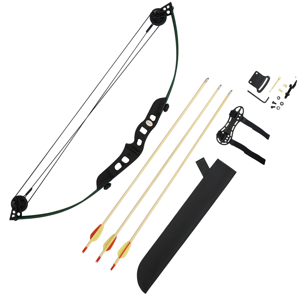 Scuba Choice Youth Compound Bow Arrows & Quiver Package S...