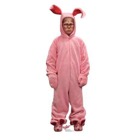 Deranged Easter Bunny (A Christmas Story) Cardboard Stand-Up, 5ft (Cardboard Fireplace For Christmas)