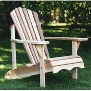All Things Cedar Western Red Cedar Adirondack Chair