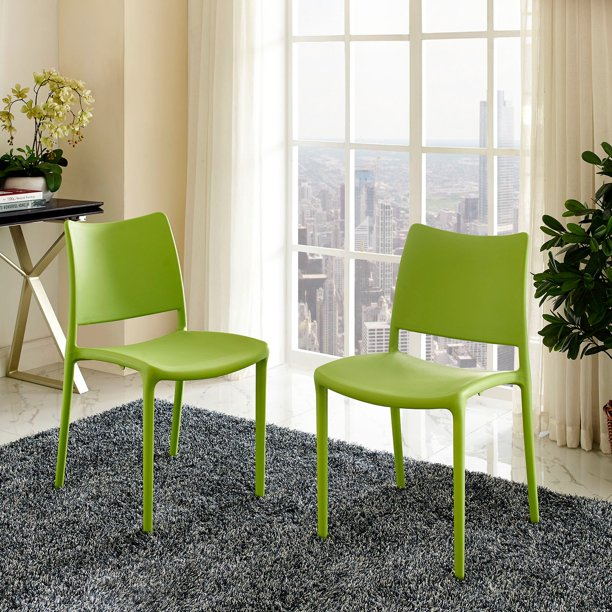 Modway Hipster Dining Side Chair, Set of 2, Multiple Colors