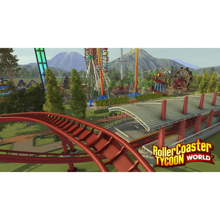 RollerCoaster Tycoon World Deluxe Edition, Atari, PC, [Digital Download]