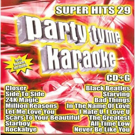 Party Tyme Karaoke: Super Hits, Vol. 29 (CD)](Halloween Party Hits 2017)