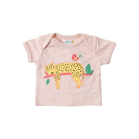 Coyote & Co. Baby Girl Graphic T-shirt (Baby Reveal T Shirts)