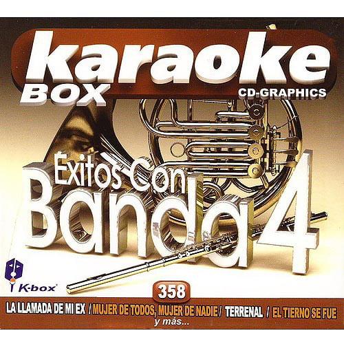 Karaoke: Exitos Banda, Vol. 4