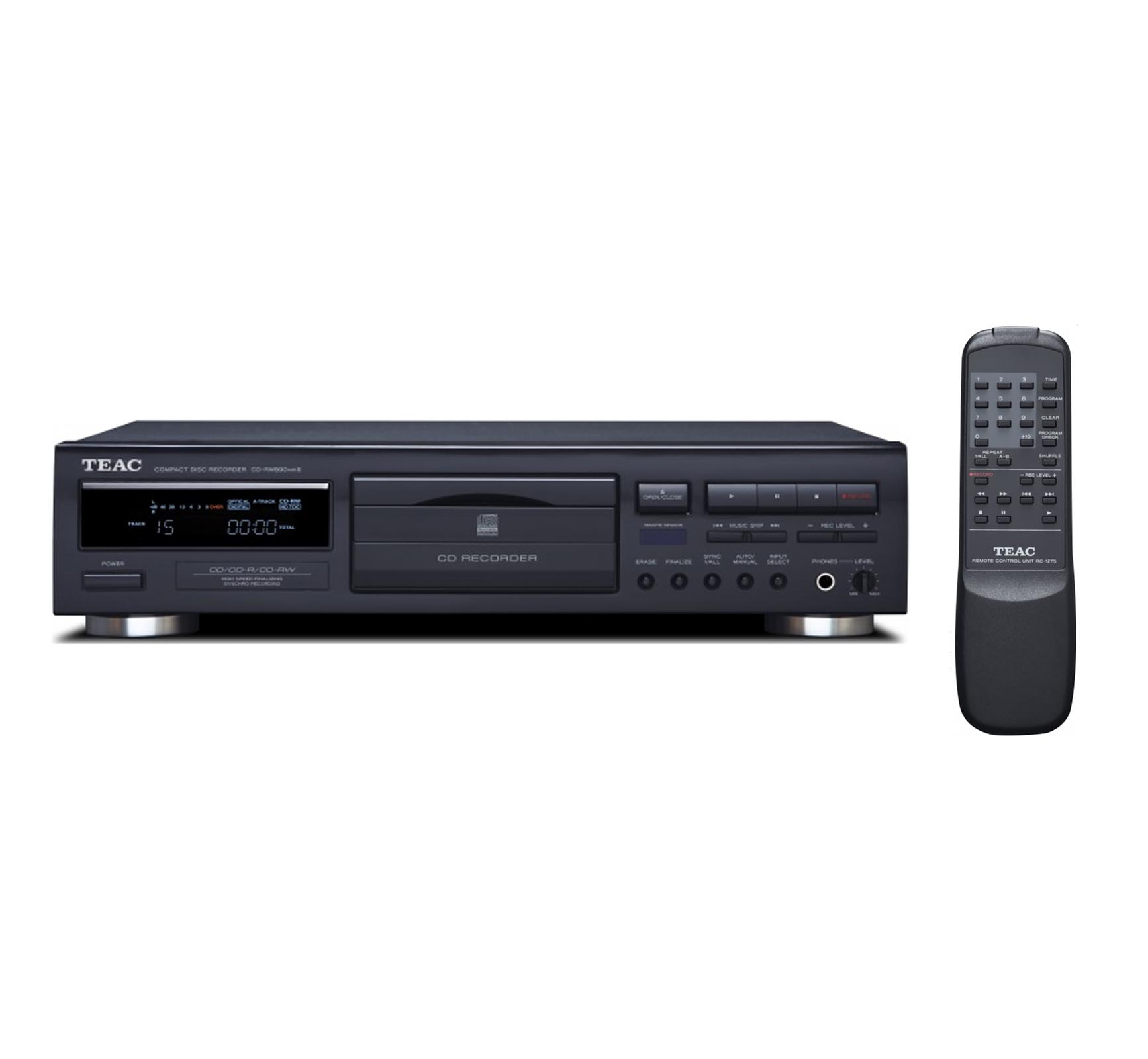 TEAC Digital CD-R RW Audio Recorder & CD Player w Remote & Shuffle CD-RW890mkII by TASCAM