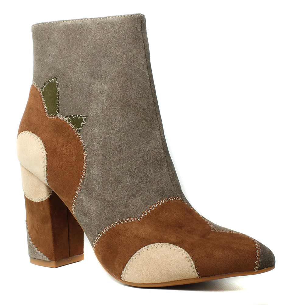 New Seychelles Womens Matinee Taupe Ankle Boots Size 7
