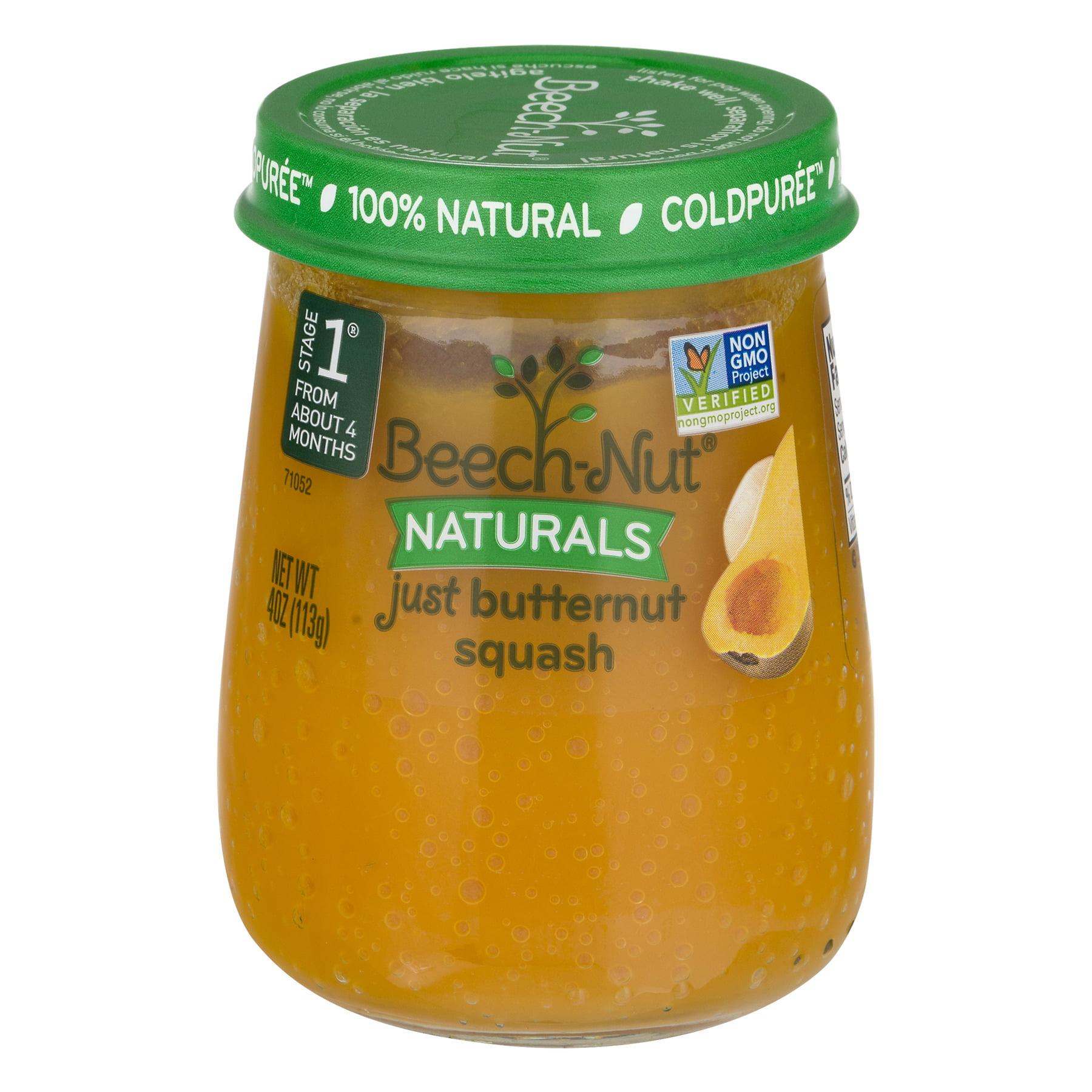 Beech-Nut Naturals Stage 1 Just Butternut Squash, 4.0 OZ