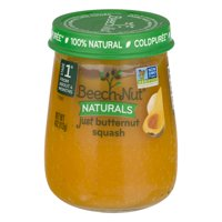 (10 Pack) Beech-Nut Naturals Stage 1 Just Butternut Squash, 4 oz